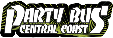 party bus central coast logo